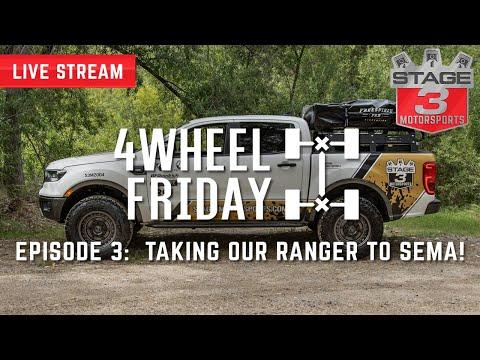 2019 Ford Ranger Overland Sema 2019 Build Youtube In 2020