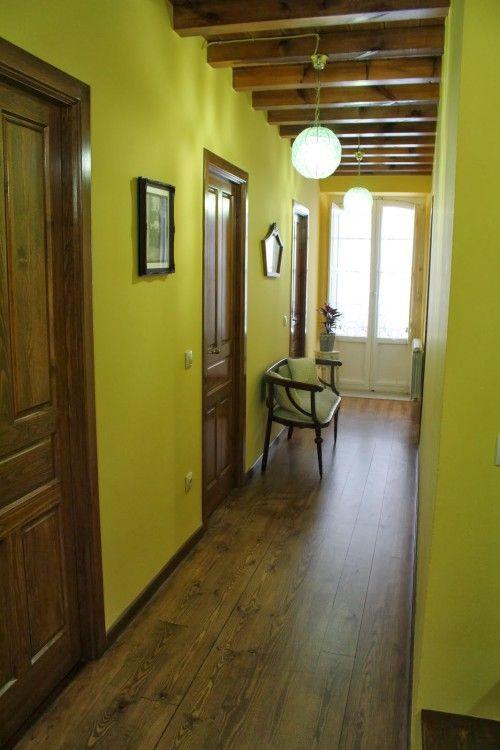 Pasillos r sticos mi espacio personal pinterest for Colores pasillos interiores