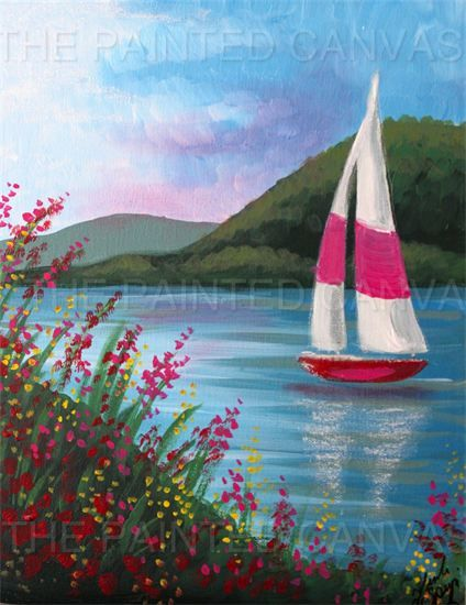 the painted canvas new may calendar wading river ny painting