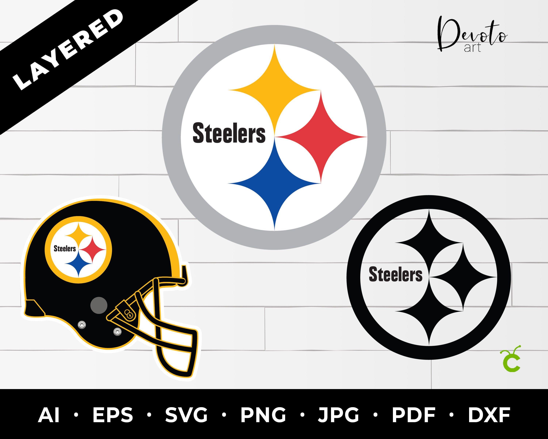 Pittsburgh Steelers SVG 3 pack Steelers cricut steelers