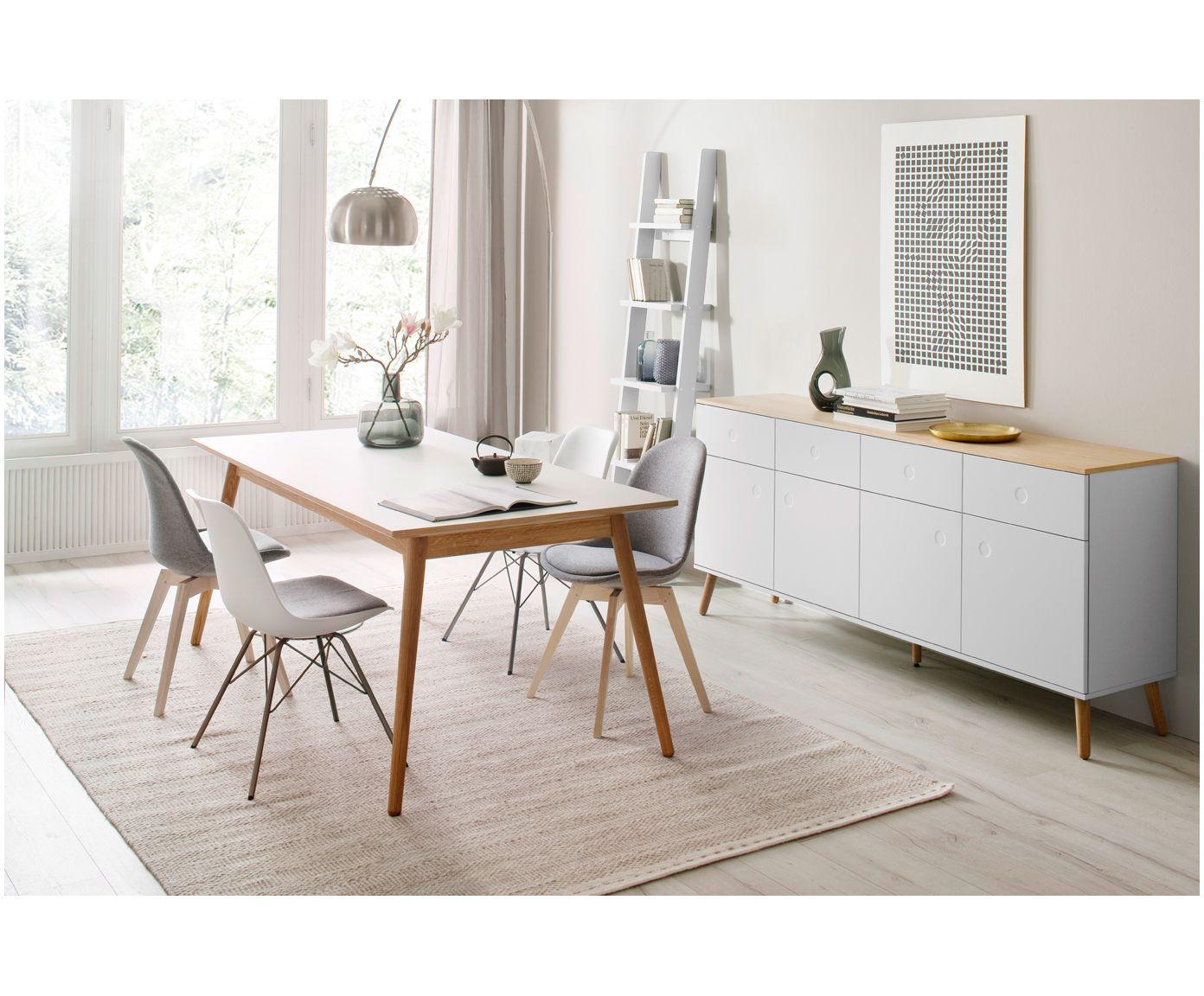 Machen Sie Ihr Wohnzimmer Mit Sideboard Dot In Weiss Eiche Zur Wohlfuhloase Entdecken Sie Weitere Mobel Von Tenzo Auf Umbau Kleiner Kuche Haus Deko Esstisch