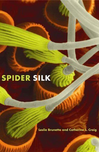 Spider Silk: Evolution and 400 Million Years of Spinning, Waiting, Snagging, and Mating by Leslie Brunetta. $14.17