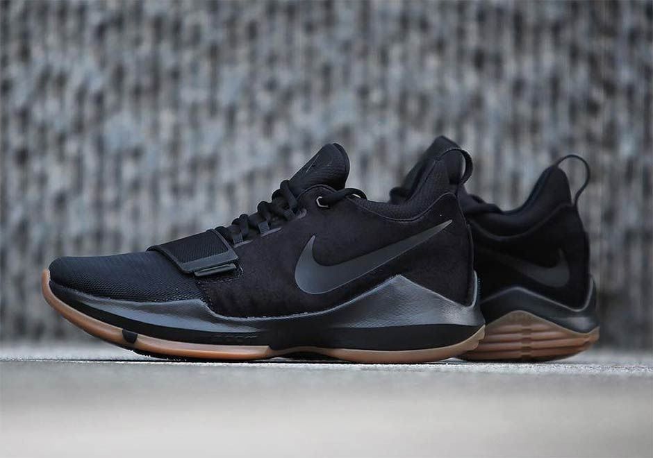 the latest 95ec6 dd5cc While Paul George is prodding more beautiful on-court alternatives, this  stealthy make-up of the Nike PG1 is making a beeline for retail.
