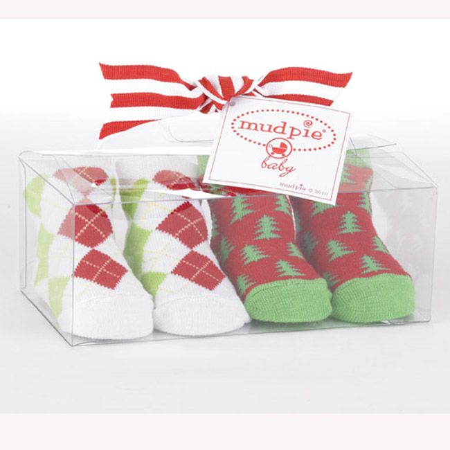 Baby Golf Infant Christmas Golf Socks