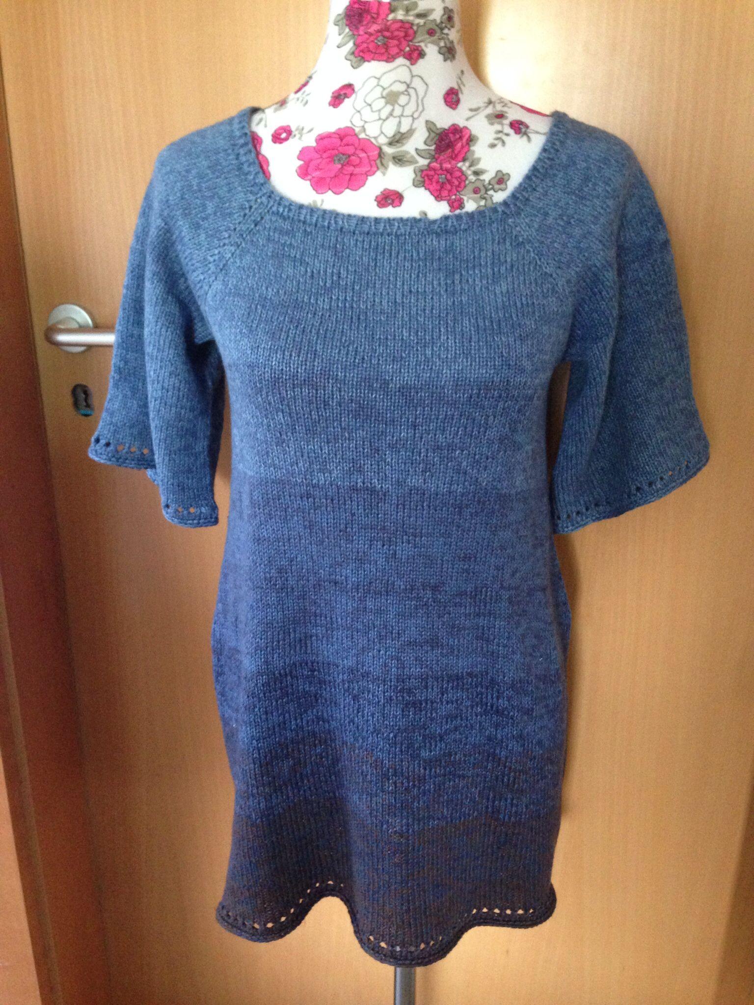 Tunika Rvo Aus Der Wolle Vom 100farbspiel Stricken Knitting