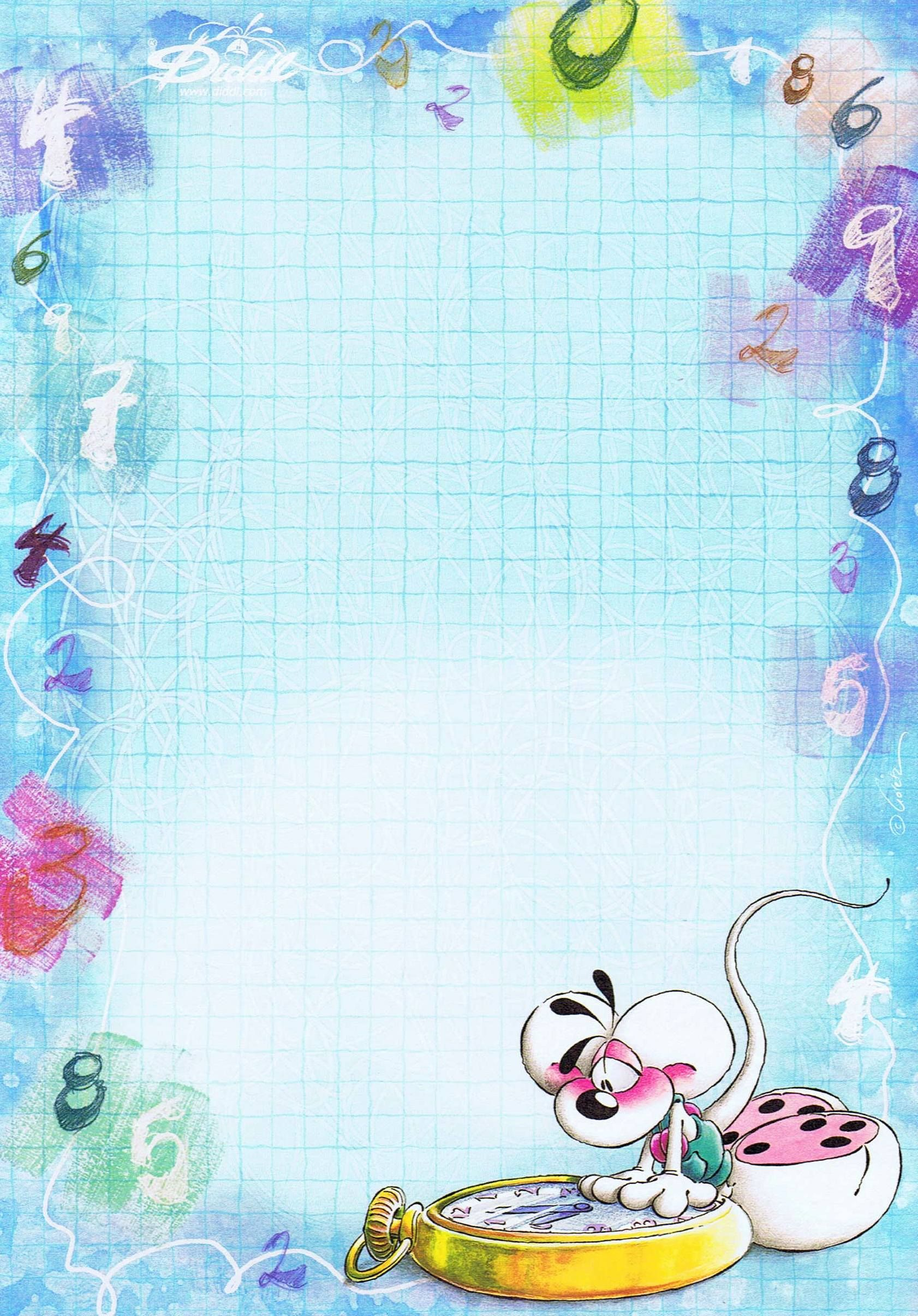 Diddl Letter Paper Stationery Paper Writing Paper