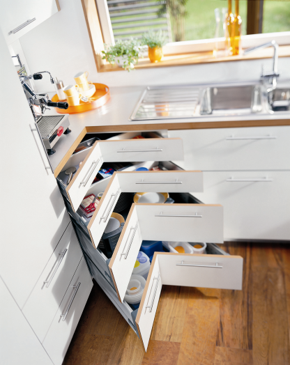 Kitchen Corner Cabinet Solutions