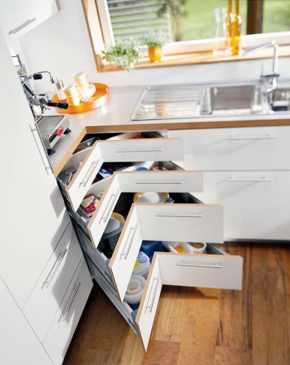 Kitchen Corner Drawer Cabinet Kitchen Remodel Small Kitchen