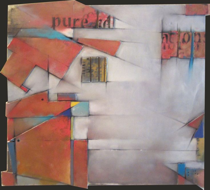 ARTFINDER: Pure Relation by DINO - Mondrian got to me one day and I had to do something about it, but I didn't want to merely suggest his presence or copy.  No, no, no...  I decided to cut up ...