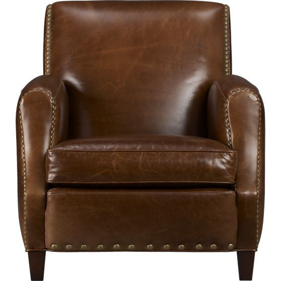 So Nice Brown Leather Chairs Club Chairs Leather Chair With