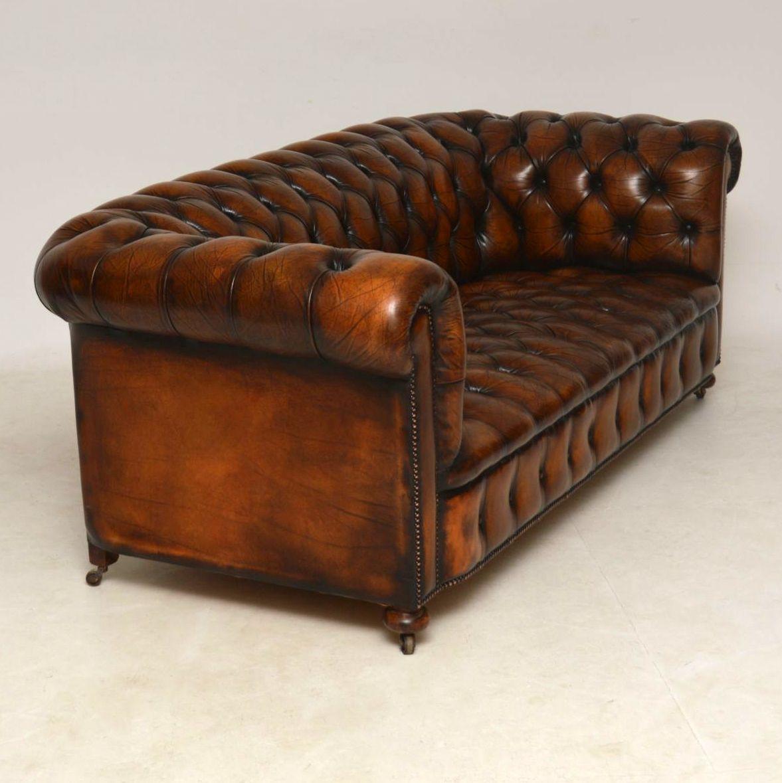 Vintage Chesterfield Sofa Дом