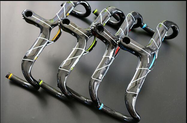1pcs Carbon MTB Road Bike Racing Drop Bar Rise Handlebar 31.8*400//420//440mm
