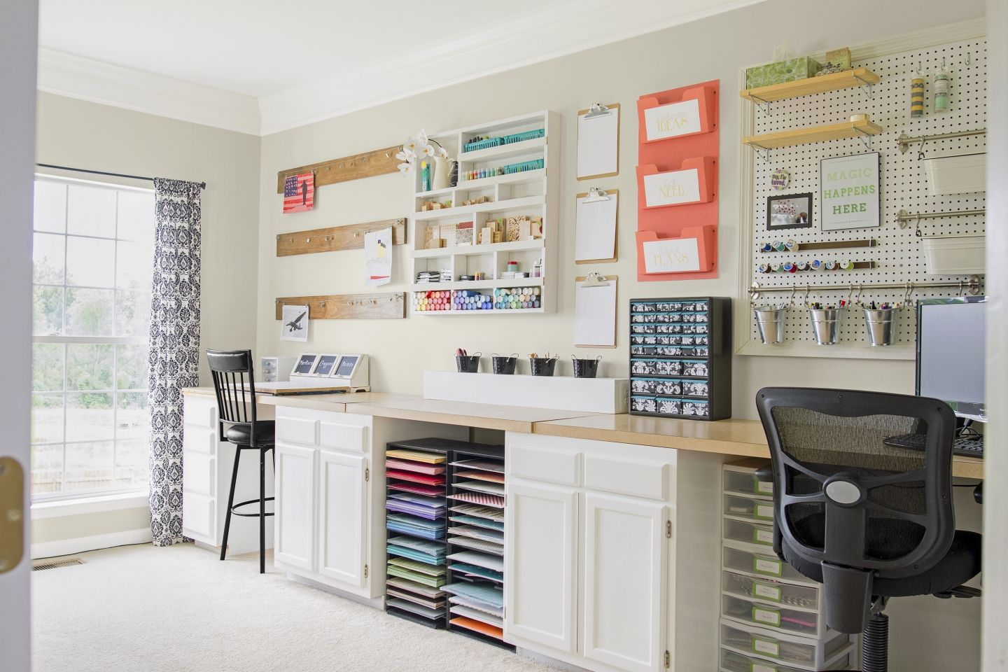 Creating The Dream Craft Room For 397 Small Craft Rooms Dream Craft Room Craft Room Design