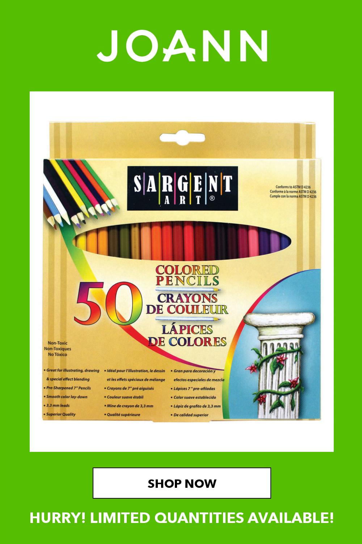 Colored Pencils 50 Pkg In 2021 Colored Pencils Pencil Art Colored Pencil