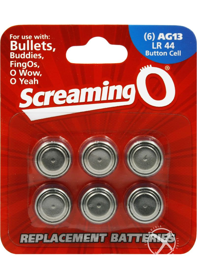 Buy Screaming O Batteries Ag13 Lr44 Button Cell 6 Pack