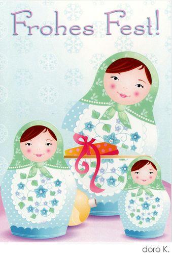 xmas nesting dolls (doro k. on flickr). All rights reserved.