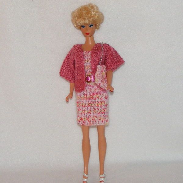 Barbie - Short Jacket, No buttons | Barbie-Crochet and Knit | Pinterest