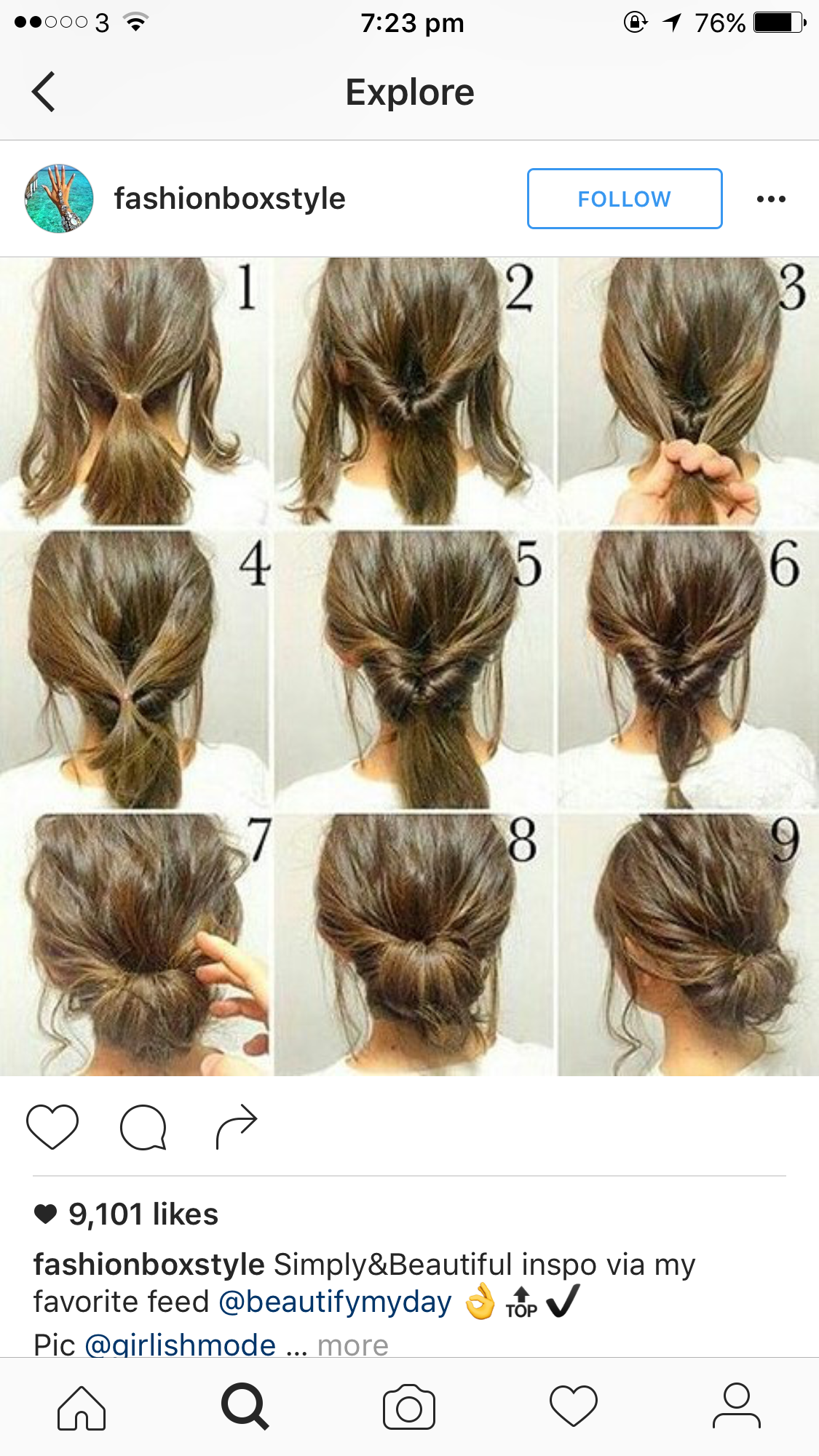Pinterest Thebetterri Mediumhair Long Hair Styles Hair Updos Tutorials Hair Styles
