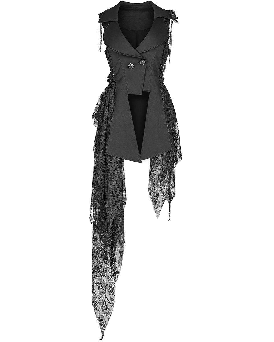 PSYCLOPSE festival vest-steampunk waistcoat-cyberpunk vest-burningman-doof vest--pixie vest-gothic vest-rave-festival clothing