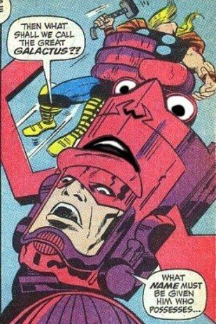 The Face In Galactus Helmet Everything Marvel Funny Pictures