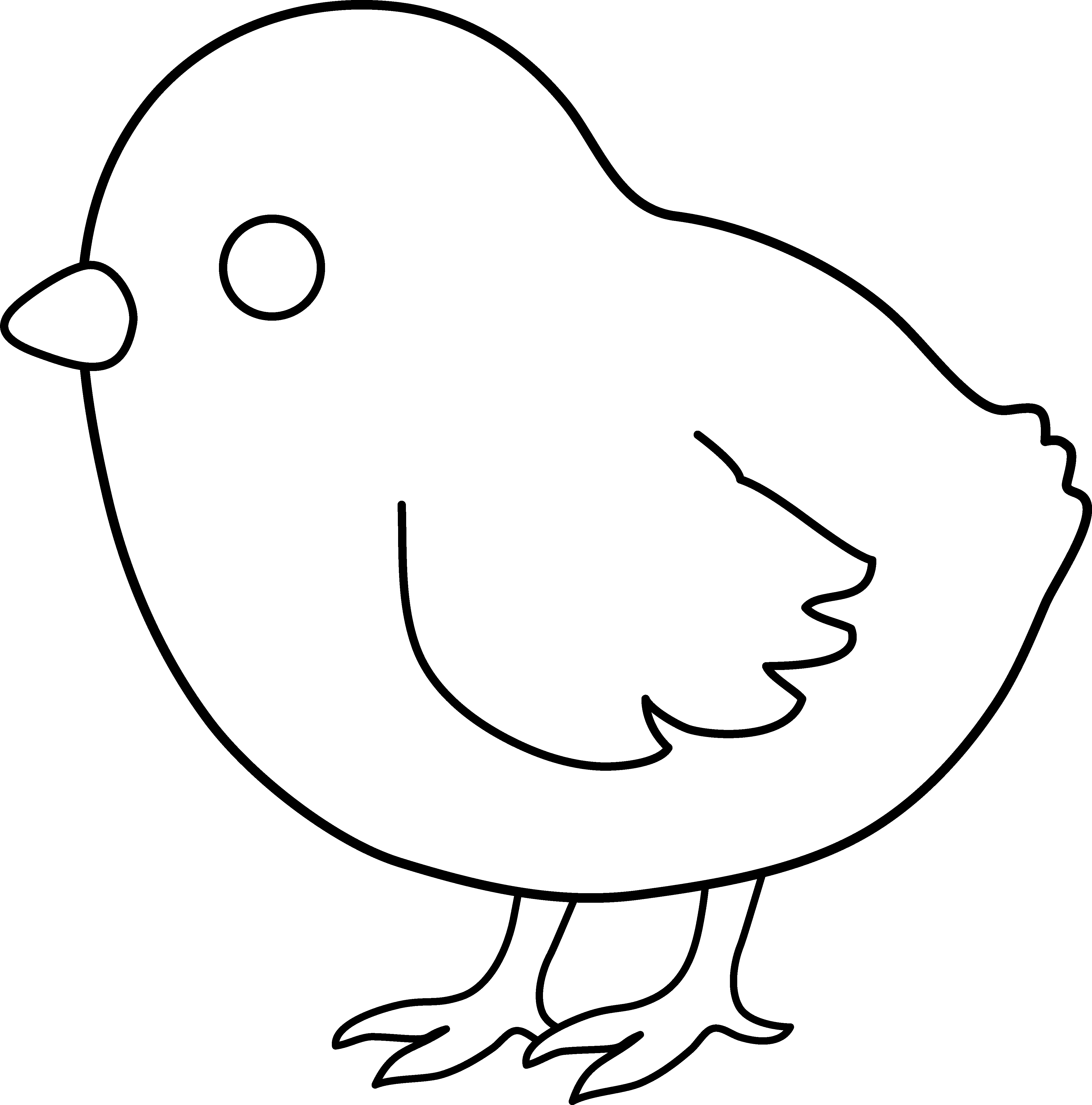 baby chick coloring page - baby chick line art easter pinterest easter crafts