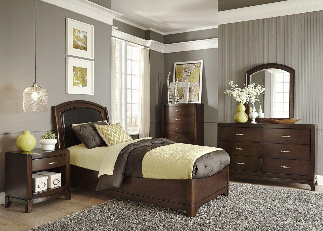 Loveryk 1 Drawer Nightstand Platform bedroom sets