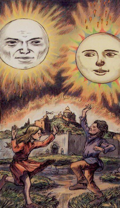 The Sun - 2012: Tarot of Ascension