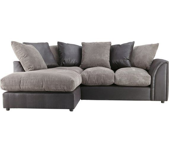 Buy Home Annabelle Fabric Left Hand Corner Sofa Charcoal At Argos Co Uk Visit Argos Co Uk To Shop Online For Sofas L Corner Sofa Sofa Living Room Furniture