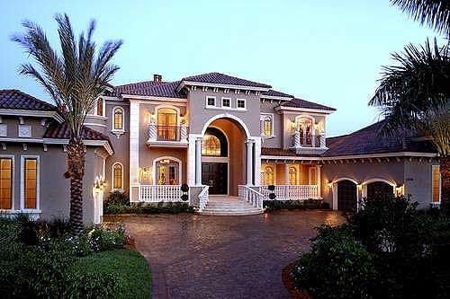 Plan 66070we Stunning Two Story Luxury Home Plan Luxury House Plans Mediterranean House Plans Mediterranean Style House Plans