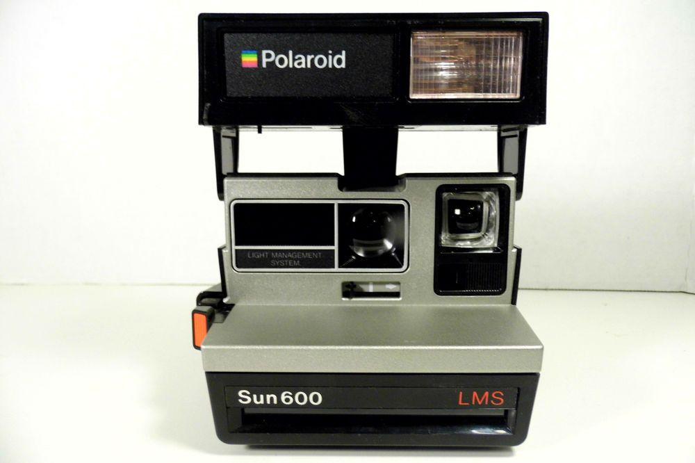 Polaroid Sun 600 Lms Instant Film Camera Instant Film Camera Instant Film Polaroid Sun 600
