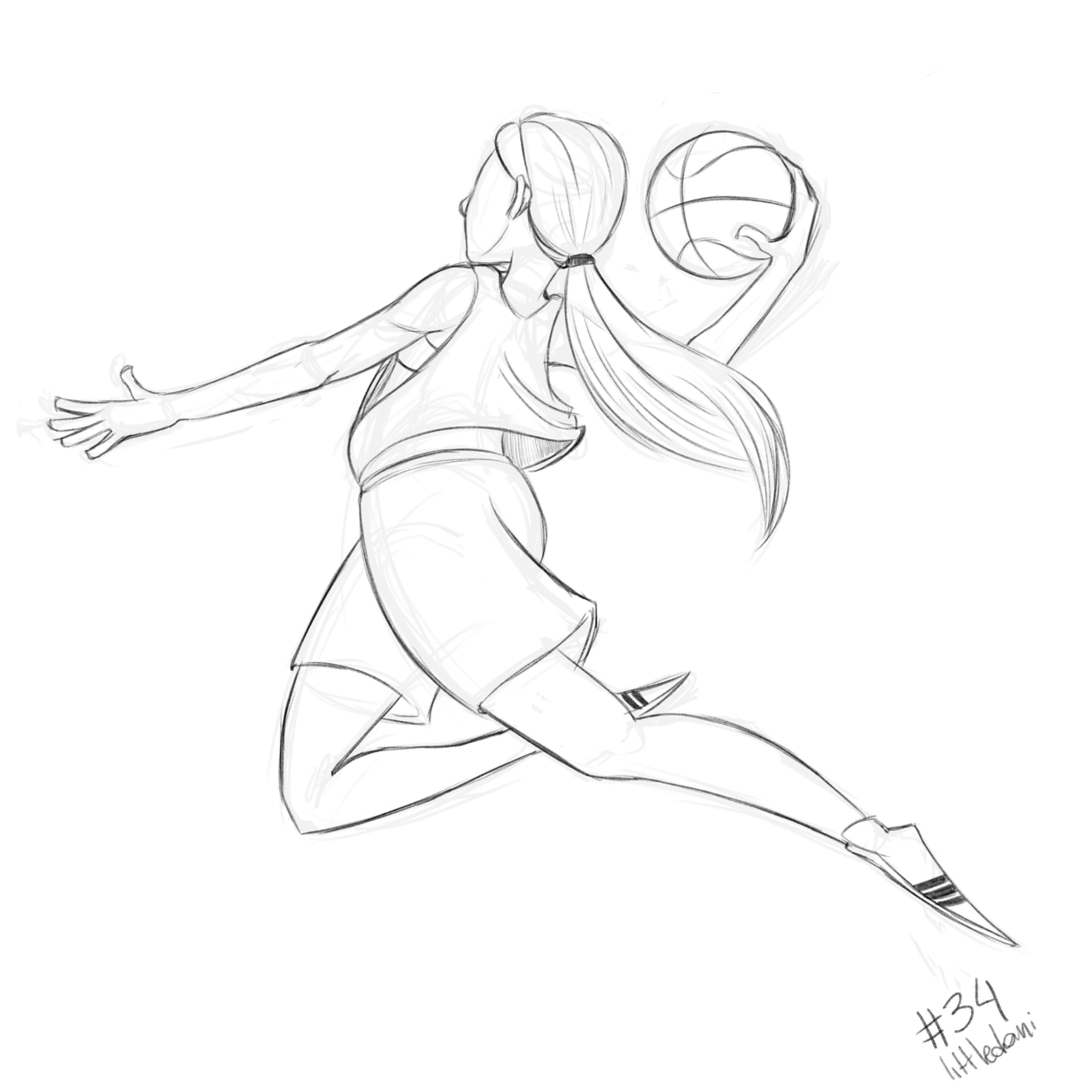 Basketball 34 365 Day34 Basketball 365daychallenge 365daysofart Sketch Em 2020 Ideias Para Desenho Drawing Desenho