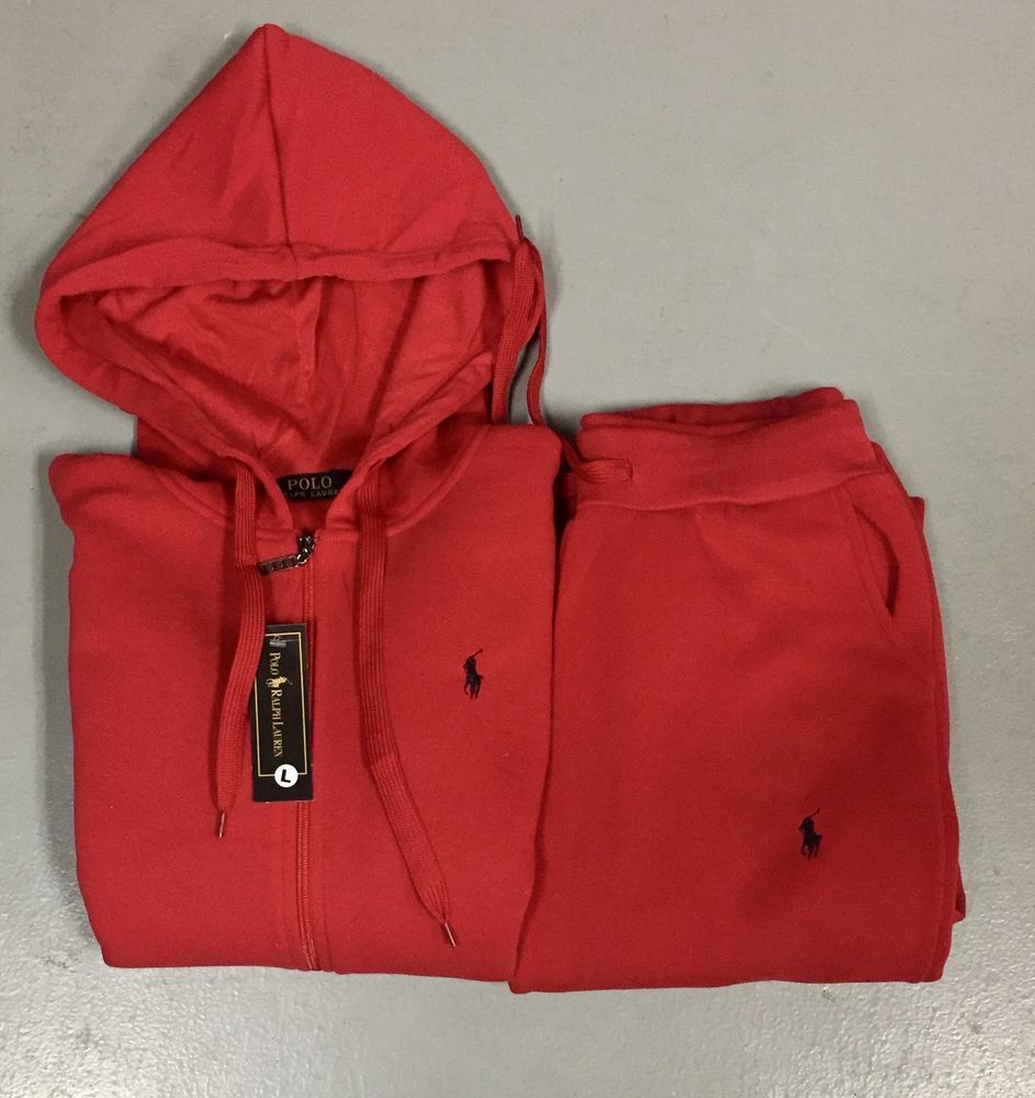 About Polo Details Lauren For Ralph Top Sweat Suit Women Red Z8OPkX0wNn