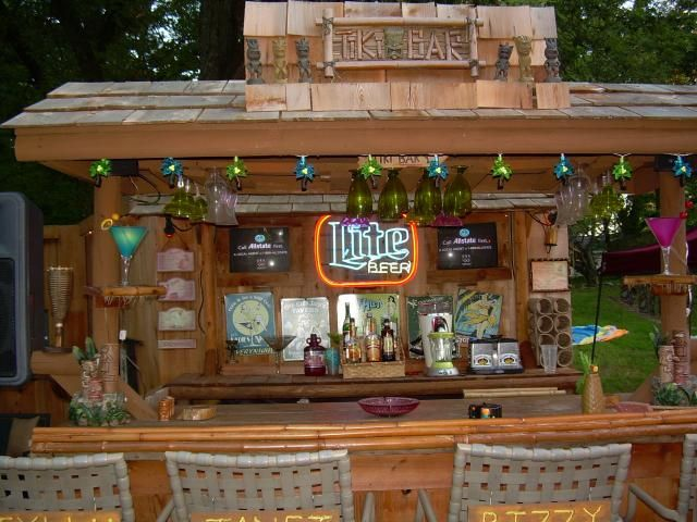 This website is a must for anyone aspiring to create a tiki bar