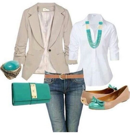 Such a perfect casual outfit even the flats
