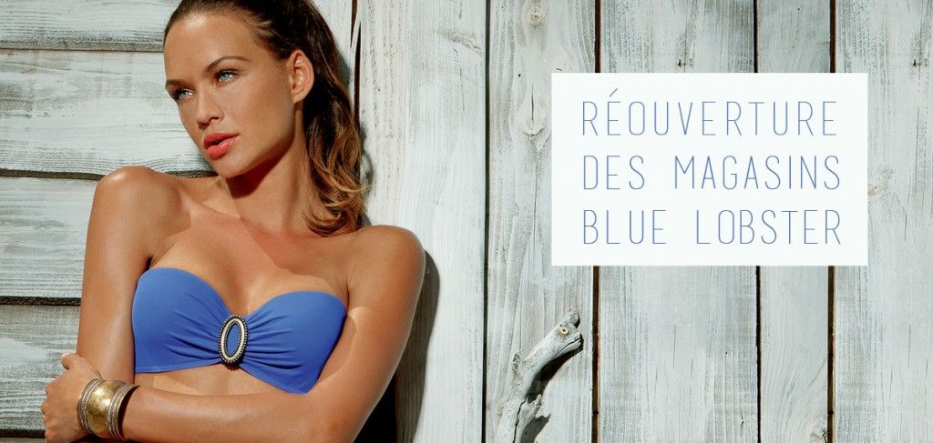 Maillots de plage bluelobster - La nouvelle collection de beachwear est arrivée dans les magasins Blue Lobster