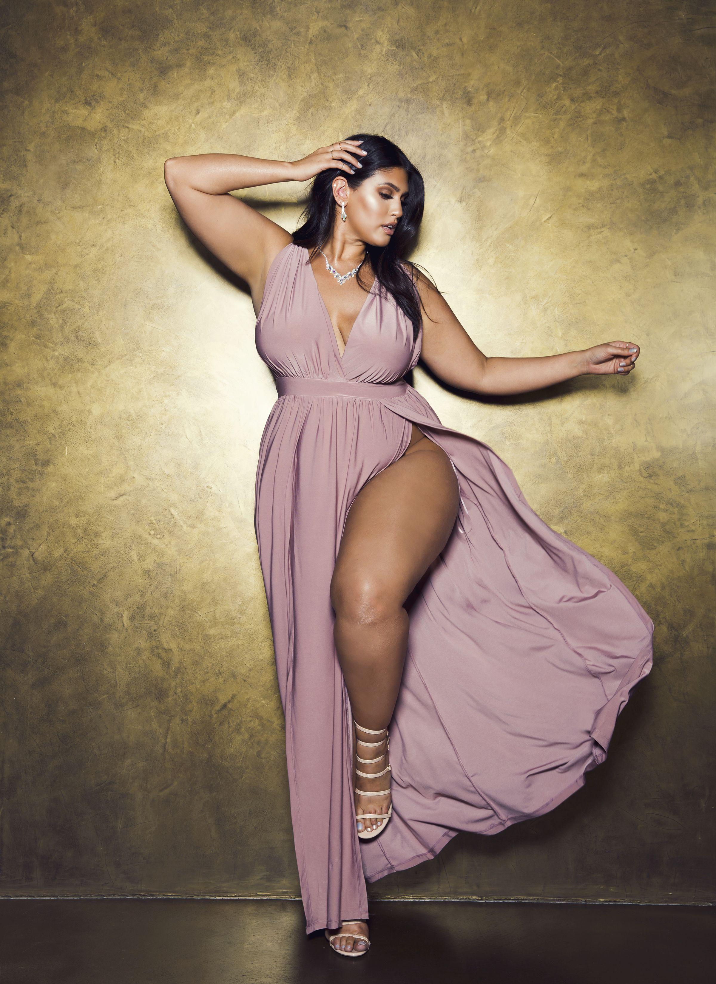 Magic dress mauve fashion nova prom dresses plus size