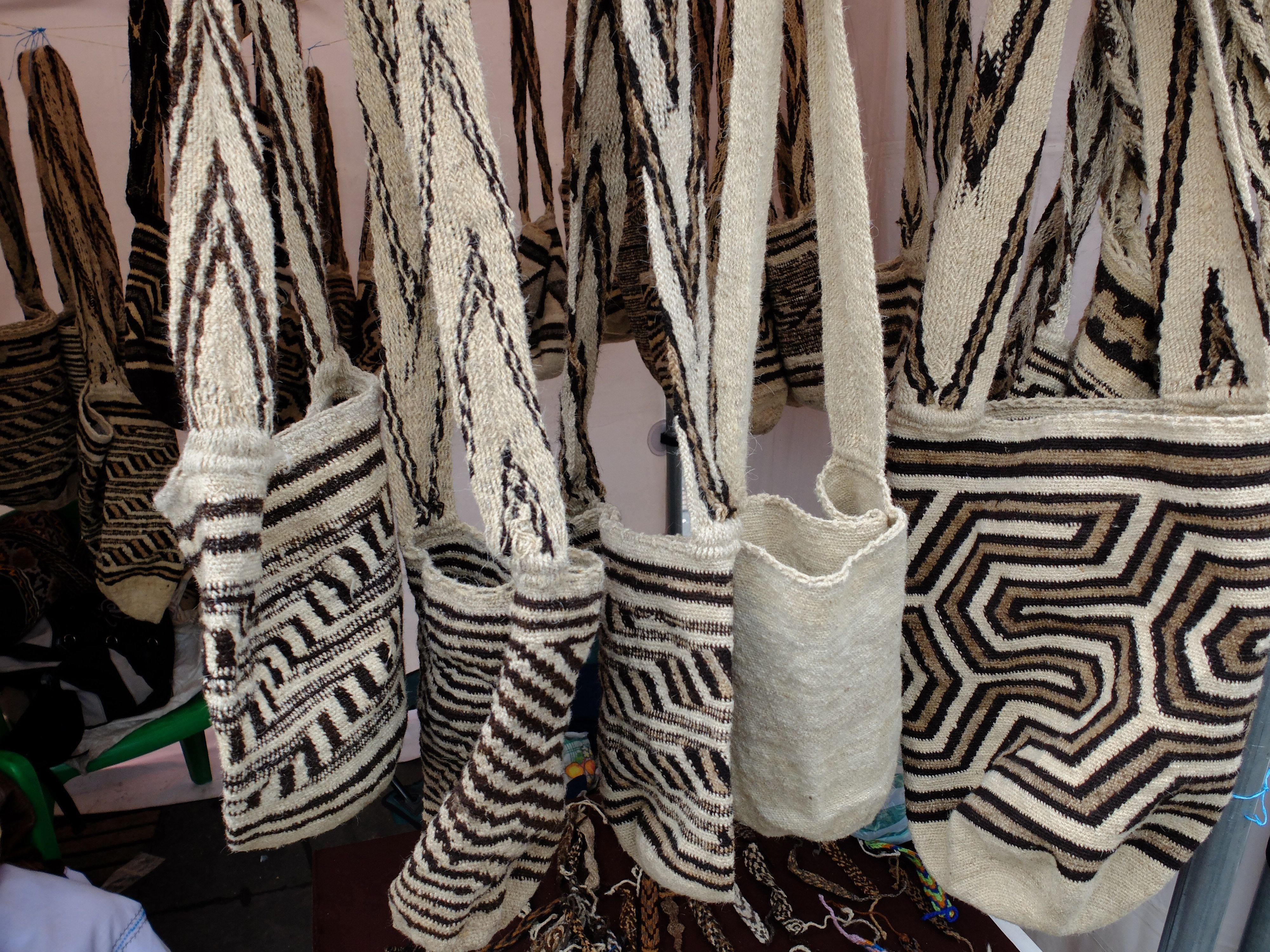 mochilas des Arhuaco - Colombie
