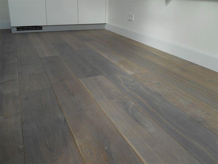 Eiken houten vloeren gerookt bax houthandel engineerd flooring