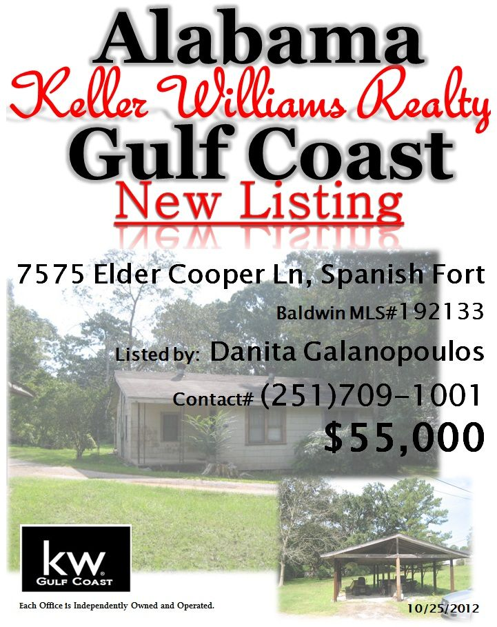 New Listing In Spanish Fort Al By Danita Galanopolous Home