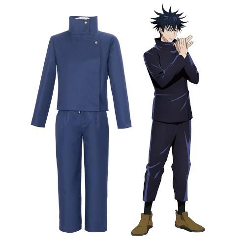 Jujutsu Kaisen Megumi Fushiguro Cosplay Costume Jujutsu High School Cosplay Uniform In 2021 Cosplay Costumes Cosplay High School Uniform