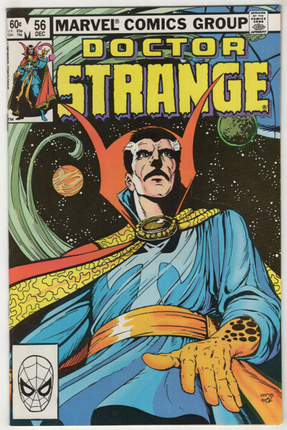 Doctor Strange Sorcerer Supreme 1988 series # 56 near mint comic book