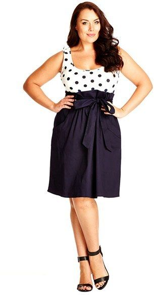 Adorable!  Plus Size Dress