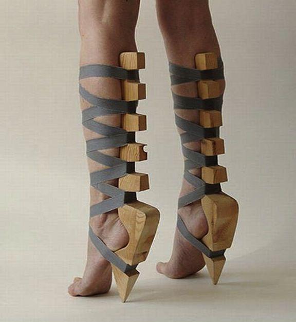 I always knew high heels were a modern day torture device!