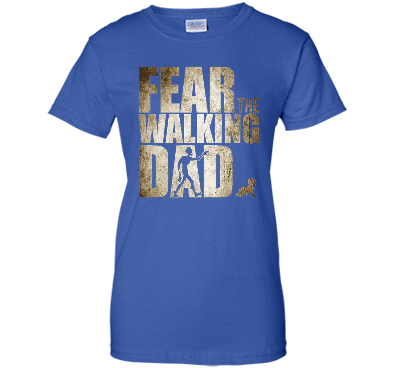 546131a10 Men's Fear The Walking Dad Shirt, Funny Father's Day Gift Daddy ...