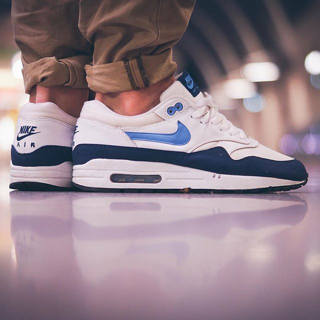 Nike Air Max 1 x Footlocker Exclusive by @gr egor Use the hashtags  #sneakersaddict