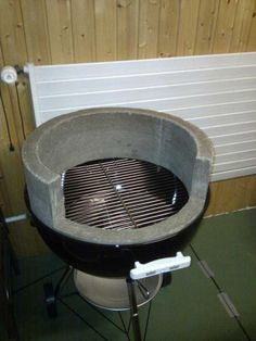 Concrete Recipe For Weber Mod Barbeque Grill Wood Burning Pizza Oven Pizza Oven