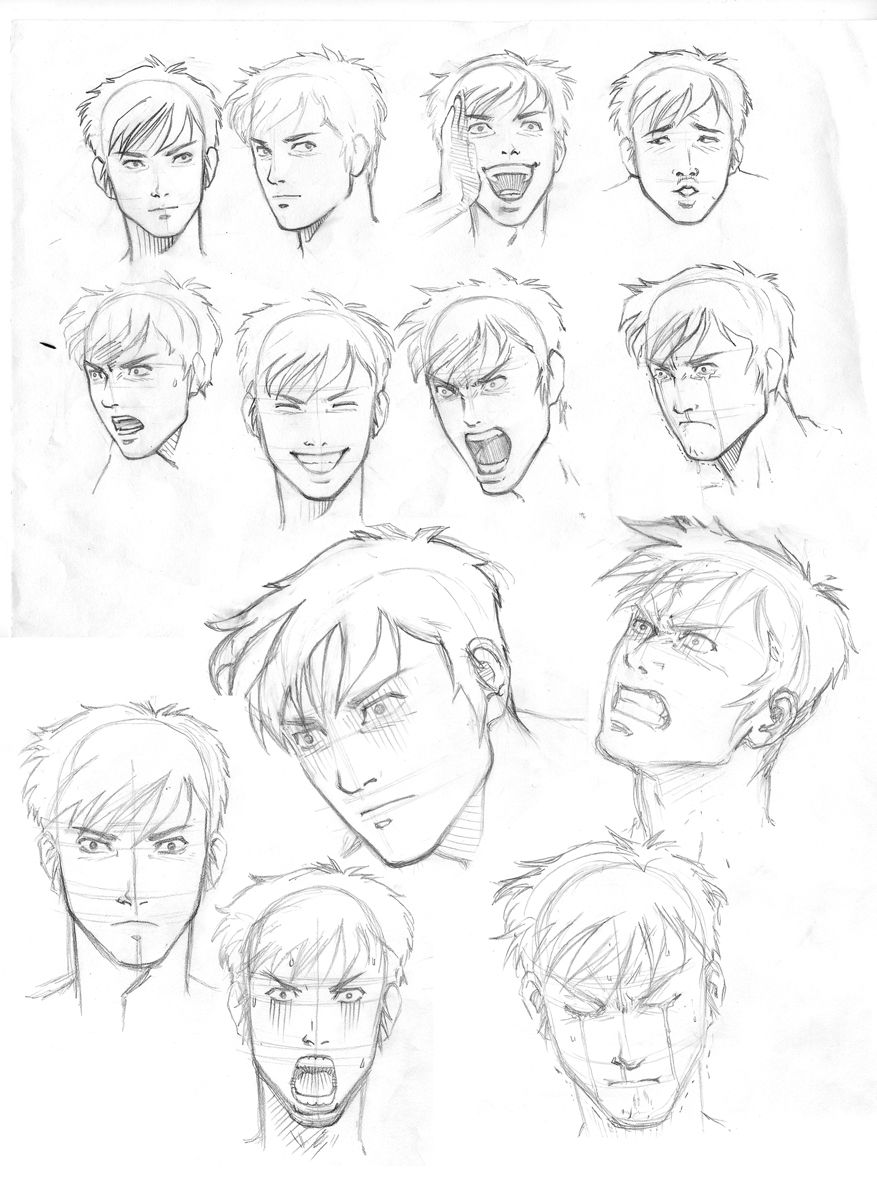 The Expression By Junaidi On Deviantart Drawing Face