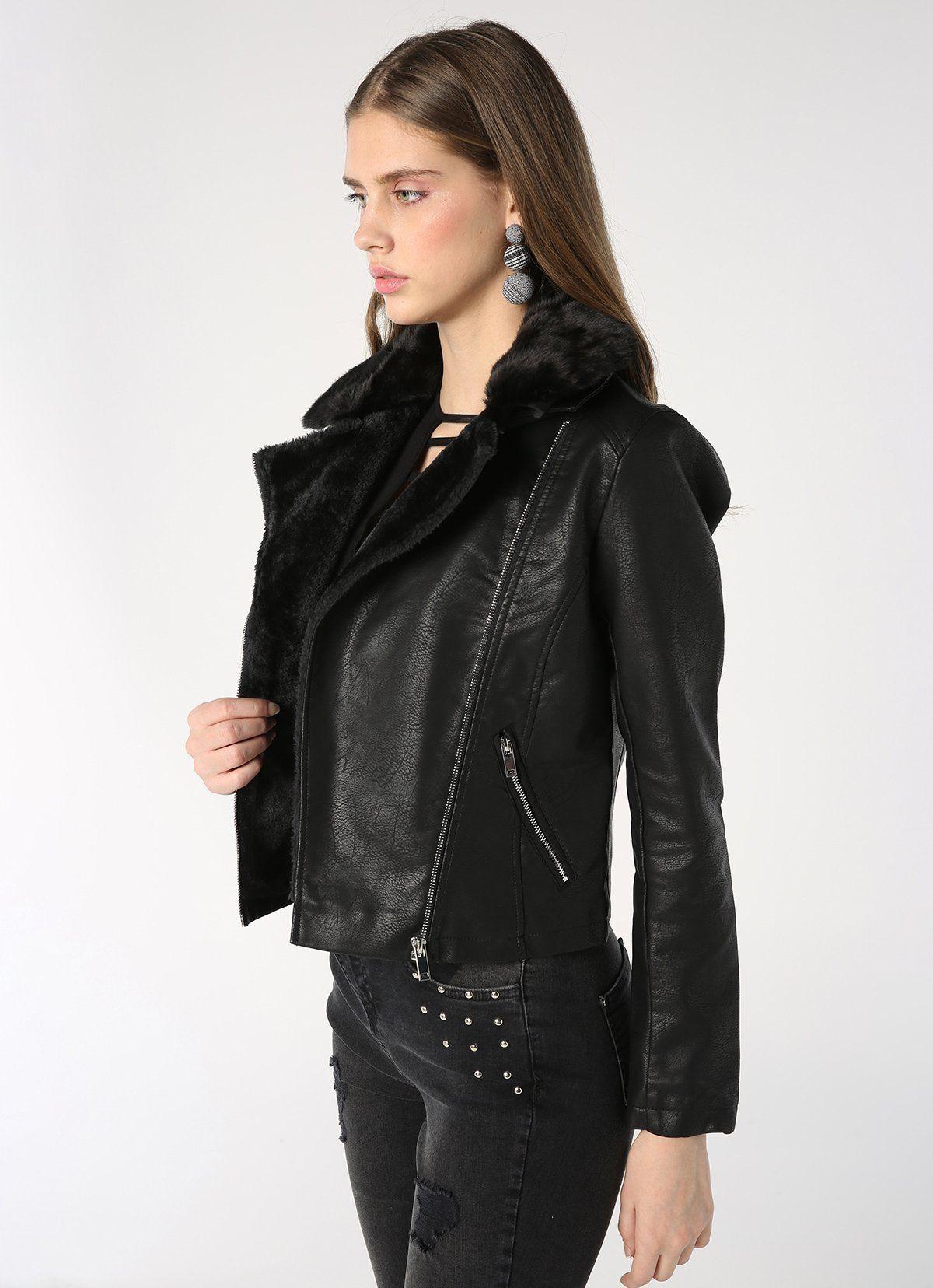 ac390d2b3b La veste en cuir est une pièce utile pour toutes les saisons. decouvrez  notre selection de 27 modèles vestes en cuir tendance 2019 qui vont vous  aider à ...