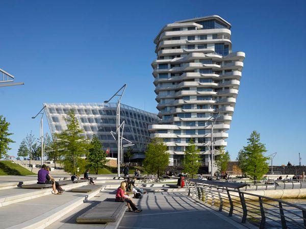 Hamburg Marco Polo Tower design ideas apartment design marco polo residential tower