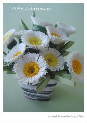 Paper White Wildflower tutorial